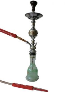 Tall Red KM Hookah